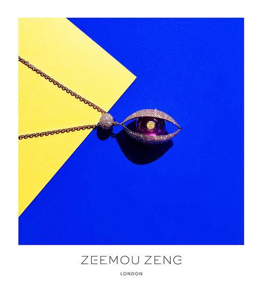 """华人设计师曾子谋""""珠宝奥斯卡""""再摘金:从会唱歌到会眨眼的珠宝"""