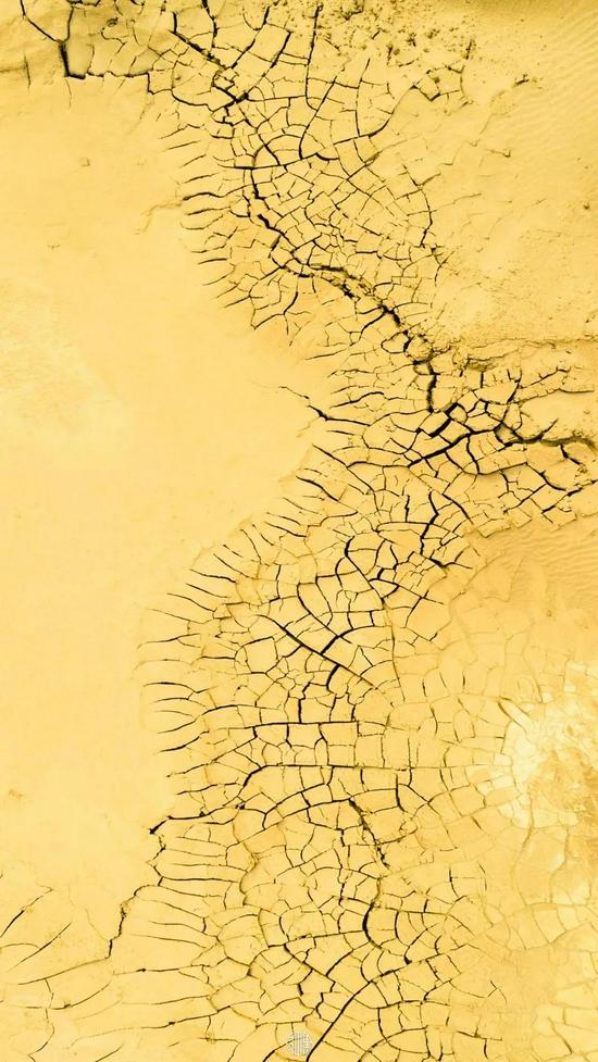 肃-皴裂土地
