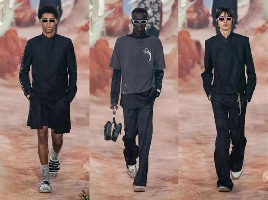 本次Dior男装可谓是将时装审美与街头结合的典范