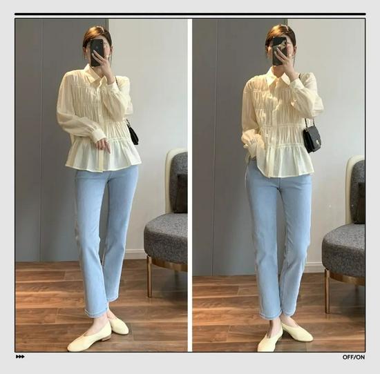 衬衫+长裤绝对是好上身的最佳CP,还特别显瘦显高插图9